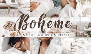 Boheme Mobile Lightroom Presets 4488100