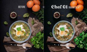 Chef - 50 Food Presets for Lightroom & Photoshop 25551048