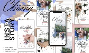 Clivery Instagram Story Template Font