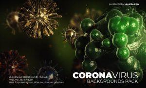 Corona Virus Backgrounds Pack YFCVPPR