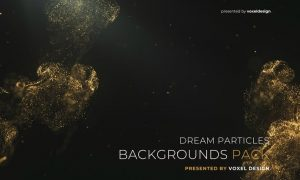 Dream Particles Backgrounds Pack TSF766R