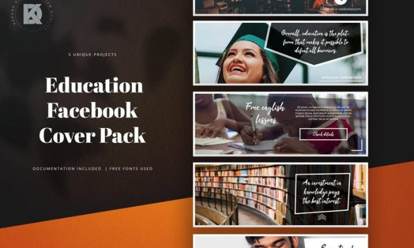 Education Facebook Cover M7MQP9G