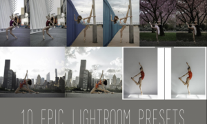 Eva Nys Photography - Eva's Dance Class Lightroom Presets