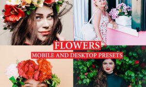 FLOWERS Lightroom Presets Premium