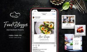 Food Blogger - Instagram Posts YBPXHVQ