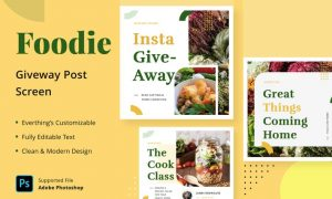 Foodie Giveaway - Feed Post 69DKGXT