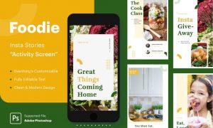Foodie Insta Stories - Activity BVGMRL7