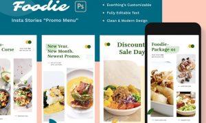 Foodie Insta Stories - Promo Menu PRTUSWS