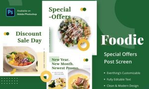 Foodie Special Offers - Feed Post 2PQT6SZ