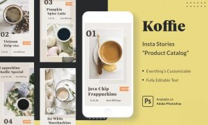 Koffie Insta Stories - Product Catalog