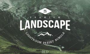Landscape Lightroom Preset Bundle 1078315