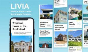 Livia - House Instagram Story Template 233MQZ2