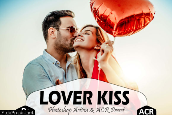 Lover Kiss Photoshop Actions and ACR