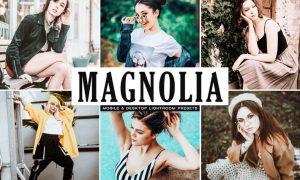 Magnolia Mobile & Desktop Lightroom Presets