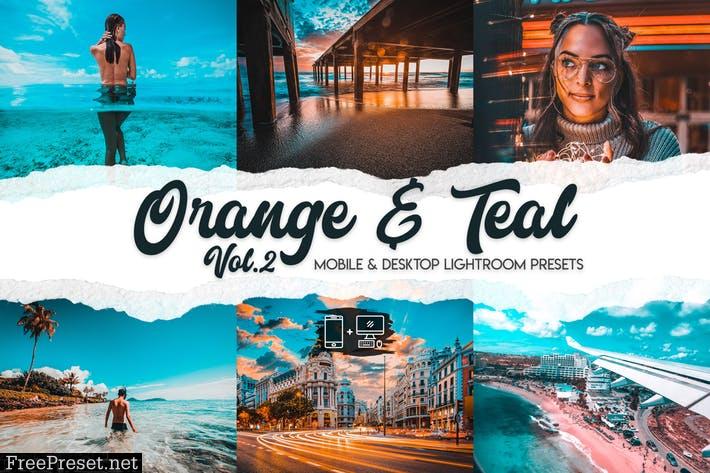 Orange & Teal Lightroom Presets Vol. 2