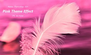 Pink Theme Effect Ps Action