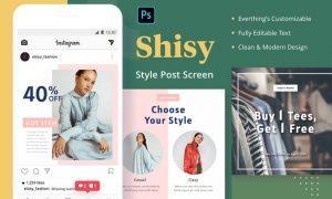 Shisy Style - Instagram Feed Post X9SDEHH