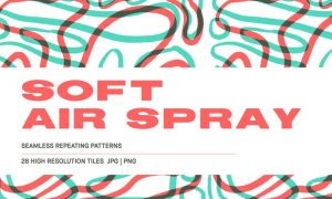 Soft Air Spray - Background patterns  WAU6CEV