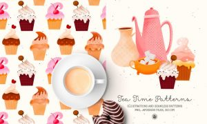 Tea Time Patterns HJXD7X5
