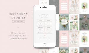 Wedding Photographer Instagram Stories Templates 4T9DYK4