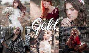 10 Lightroom CC Presets - Gold 4558129