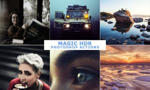 50 Magic HDR Photoshop Actions 4599059
