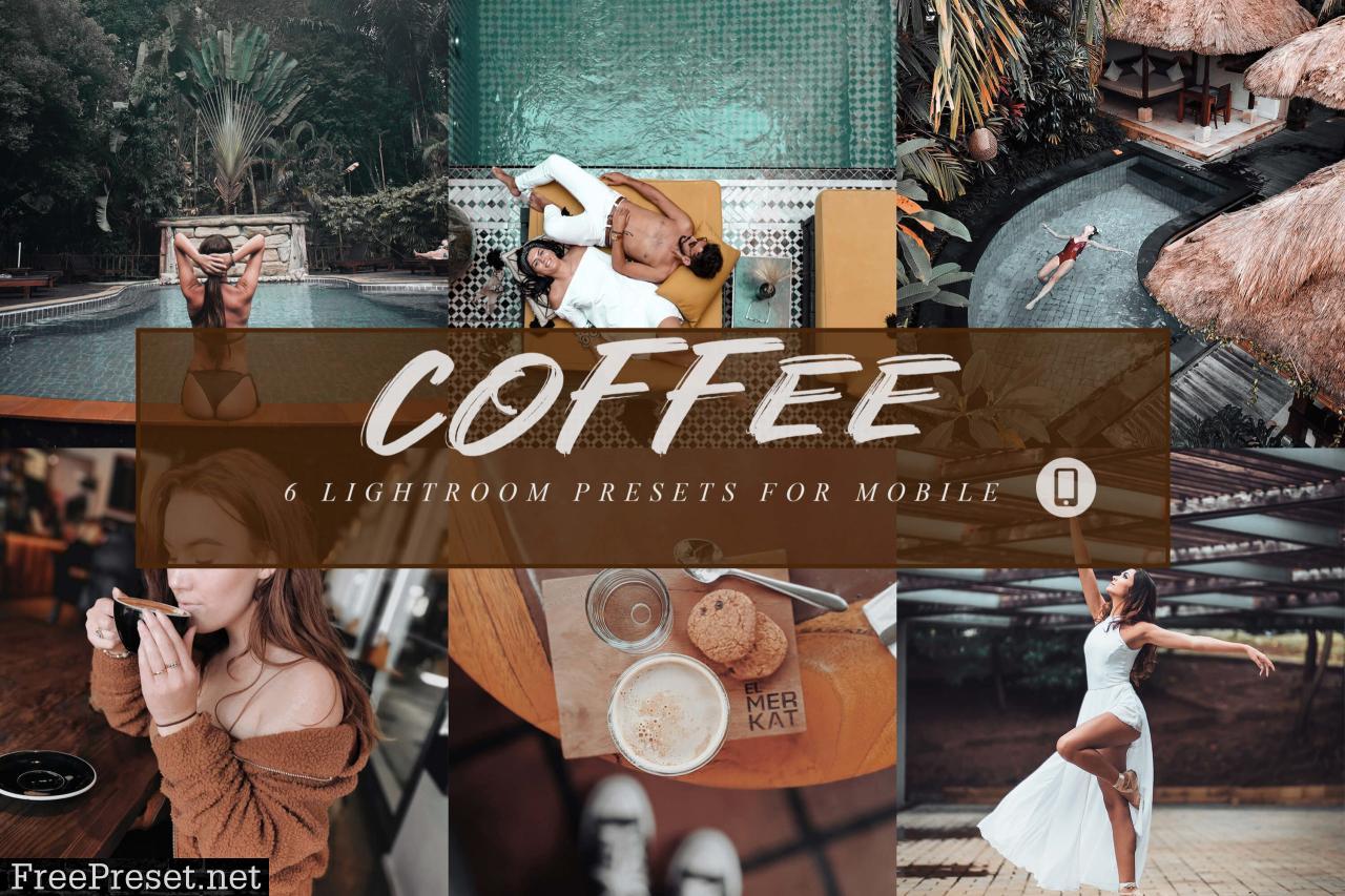6 Coffee Mobile Lightroom Presets 3666330