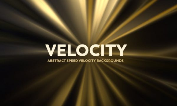 Abstract Speed Velocity Backgrounds - Golden Color YCVFY2G