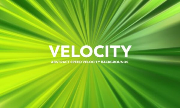 Abstract Speed Velocity Backgrounds - Green Color U9TZL9W