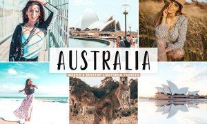 Australia Lightroom Presets Pack 3628291