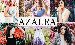 Azalea Mobile & Desktop Lightroom Presets