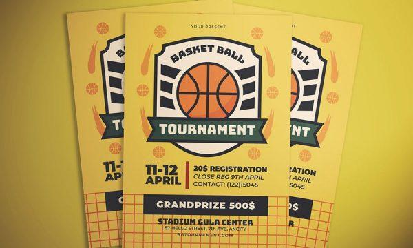 Basketball Flyer 8DK6SVJ
