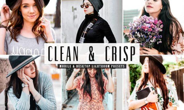 Clean & Crisp Mobile & Desktop Lightroom Presets