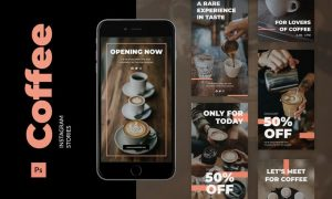 Coffee Instagram Story L7M5RKL