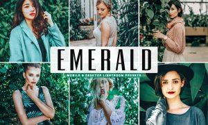 Emerald Lightroom Presets Pack 3629196