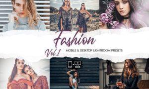 Fashion Lightroom Presets Vol. 1