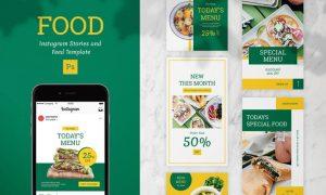 Food Instagram Template QFUVHFP