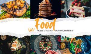 Food Lightroom Presets Vol. 1