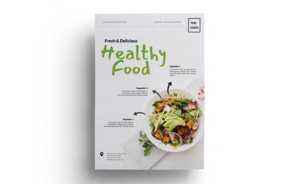 Food / Restaurant Flyer  3A4UJSY