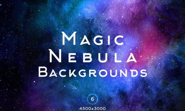 Magic Nebula Backgrounds 7NSH7KV
