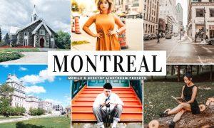 Montreal Mobile & Desktop Lightroom Presets