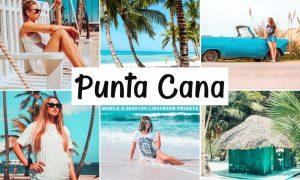 Punta Cana Mobile & Desktop Lightroom Presets