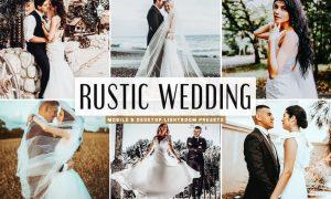 Rustic Wedding Mobile & Desktop Lightroom Presets
