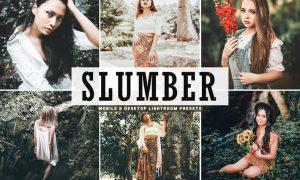 Slumber Mobile & Desktop Lightroom Presets