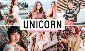 Unicorn Mobile & Desktop Lightroom Presets