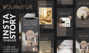 Vourniture Instagram Story Template Q626SFY