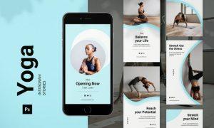 Yoga Instagram Story MZC9SUL