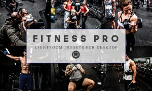 12 Lightroom Presets Fitness Pro and ACR 3916278