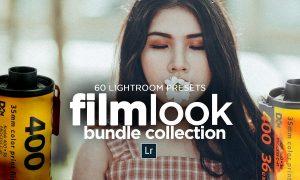 60 FILM LOOK Bundle LR Presets 4622178