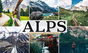 Alps Lightroom Presets Pack 3786737